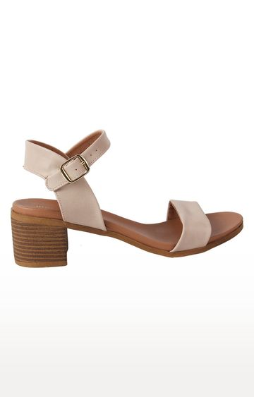 STEVE MADDEN | Beige Block Heels