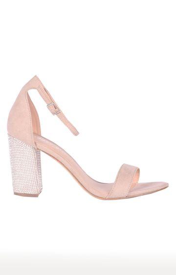 STEVE MADDEN | Blush Block Heels