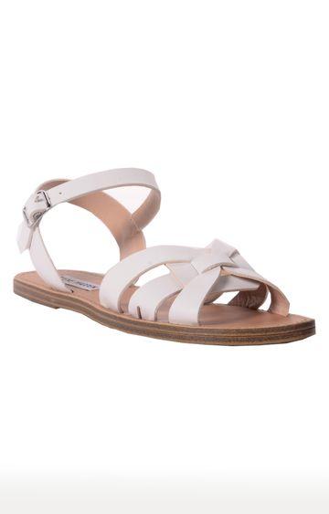 STEVE MADDEN | White Sandals