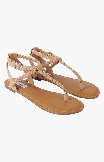 STEVE MADDEN | Beige Sandals