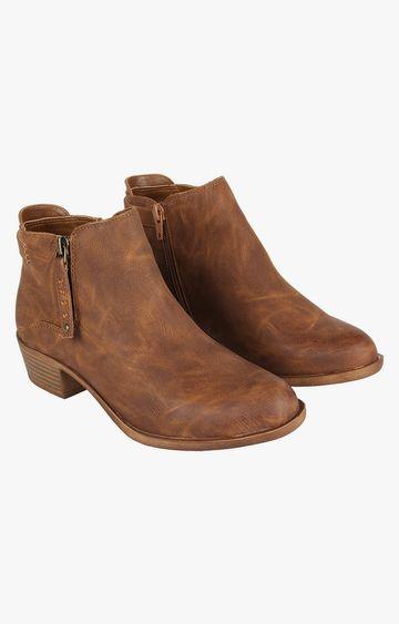STEVE MADDEN | Cognac Boots