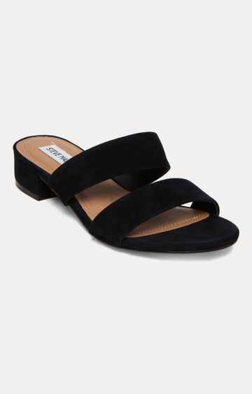 STEVE MADDEN   Black Block Heels