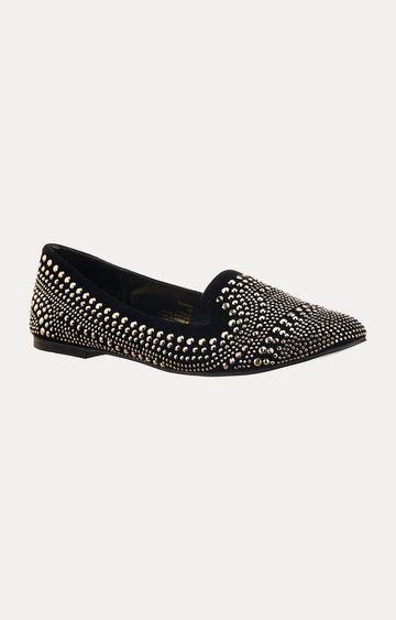 STEVE MADDEN | Black Pointed Toe Shoes