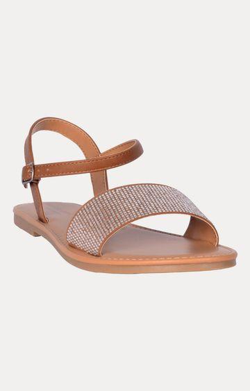 STEVE MADDEN | Cognac Sandals