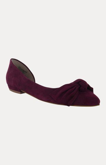 STEVE MADDEN | Wine Pointed Toe Shoes