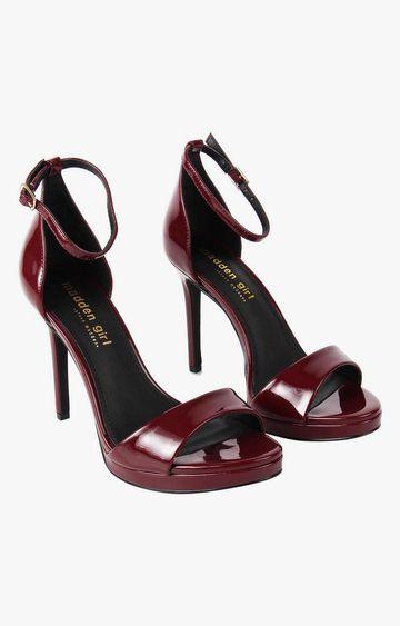 STEVE MADDEN | Wine Stilettos