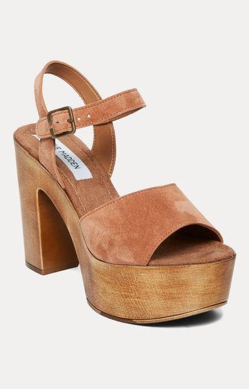 STEVE MADDEN | Brown Block Heels