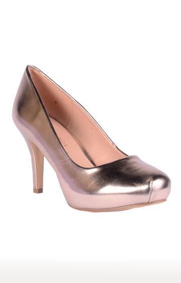 STEVE MADDEN   Rose Gold Stilettos