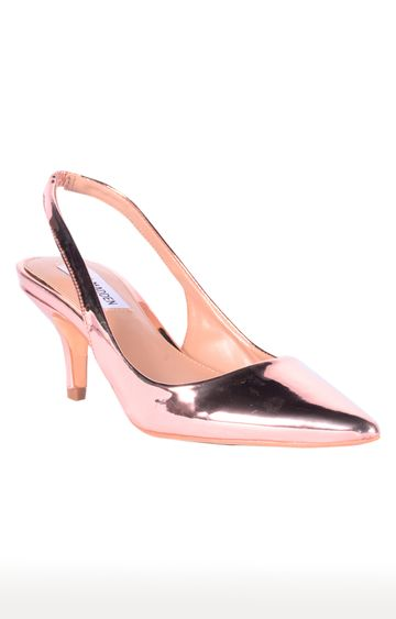 STEVE MADDEN | Rose Gold Kitten Heels