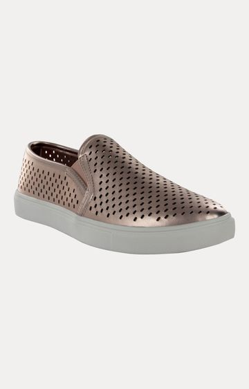 STEVE MADDEN | Rose Gold Sneakers