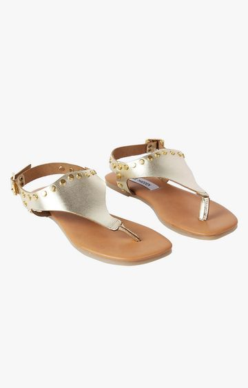 STEVE MADDEN | Gold Sandals