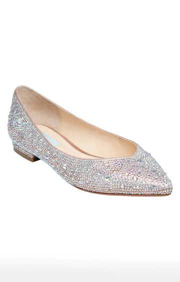 STEVE MADDEN | Silver Pointed Toe Shoes