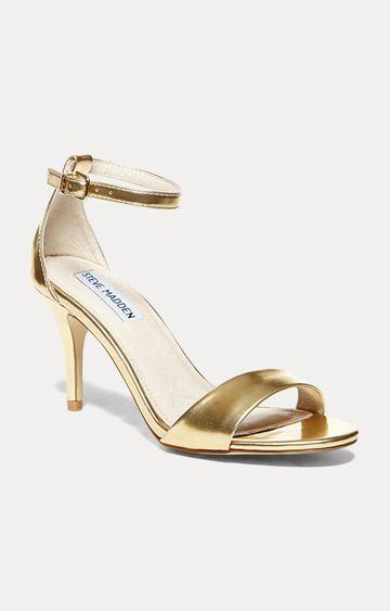 STEVE MADDEN | Gold Stilettos