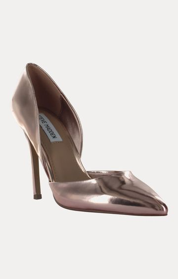 STEVE MADDEN | Rose Gold Stilettos