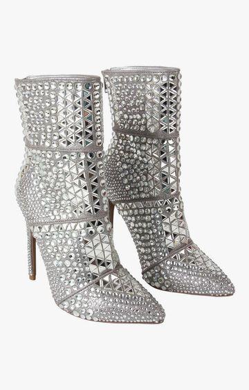STEVE MADDEN | Silver Boots