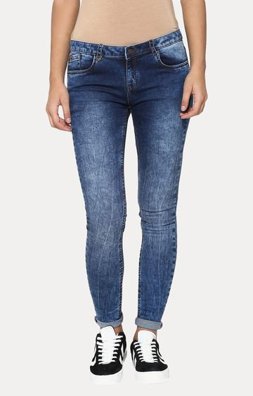 Crimsoune Club | Blue Straight Jeans