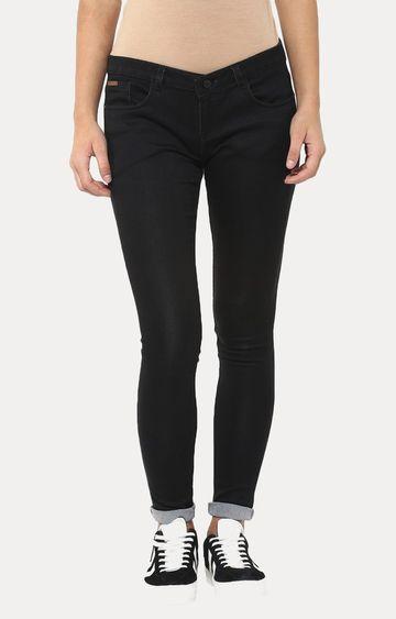 Crimsoune Club | Black Straight Jeans