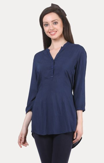 Crimsoune Club | Navy Solid Tunic