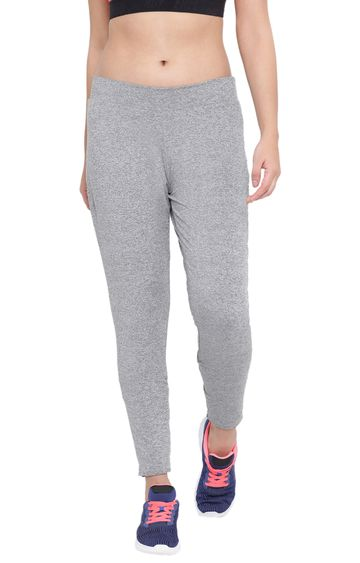 Crimsoune Club | Light Grey Melange Trackpants