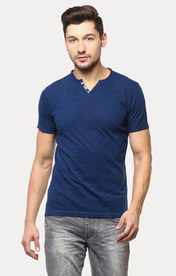 Crimsoune Club   Blue Melange T-Shirt