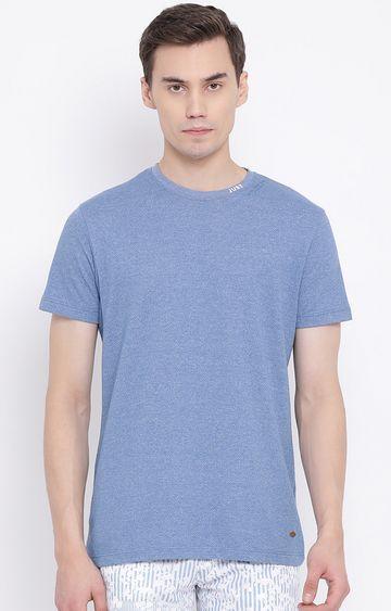 Crimsoune Club | Blue Melange T-Shirt