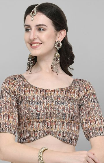 Janasya | Multicoloured Digital Printed Blouse