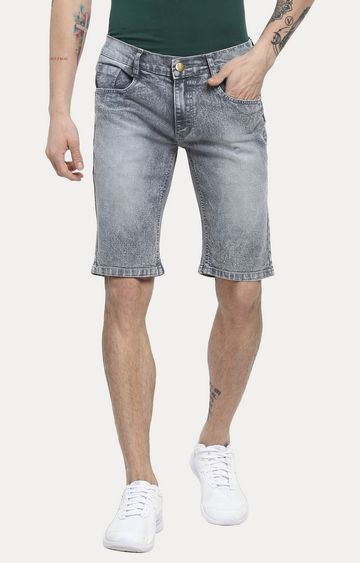 Urbano Fashion | Grey Solid Shorts