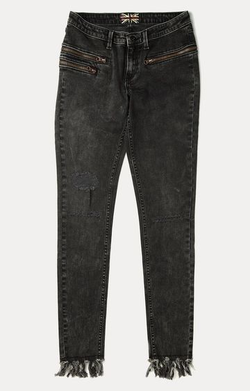 Pepe Jeans | Black Straight Jeans