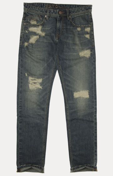 Pepe Jeans | Vintage Blue Straight Jeans