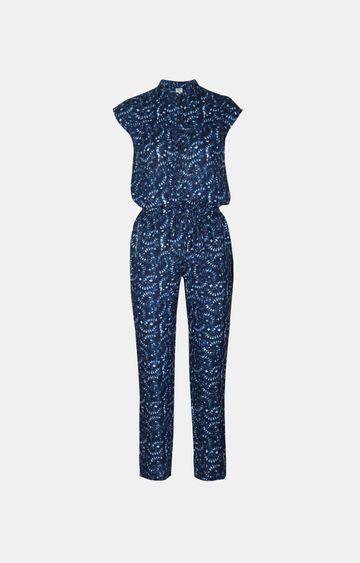 Pepe Jeans | Blue Long Jumpsuit