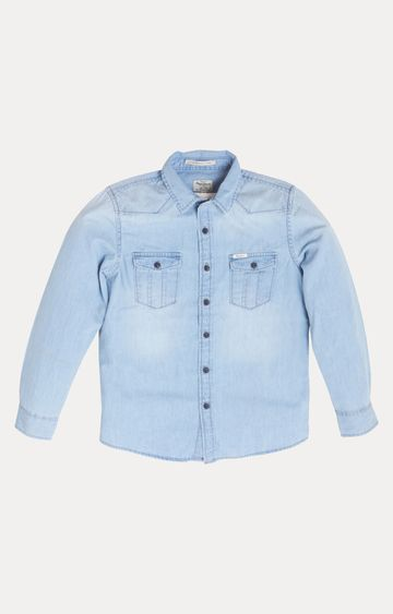 Pepe Jeans | Blue Solid Shirt