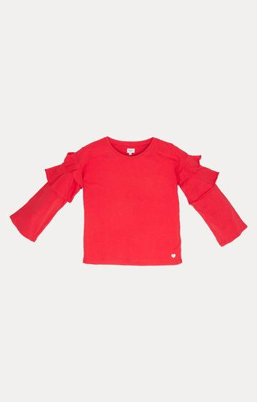 Pepe Jeans | Red Solid T-Shirt