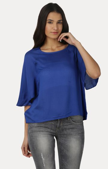 Pepe Jeans | Ro-Blue Scarlet SS Blouses Tops