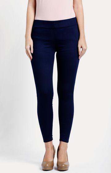 Pepe Jeans | Dark Blue Solid Jeggings