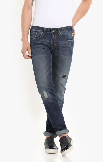 Pepe Jeans | Navy Straight Jeans