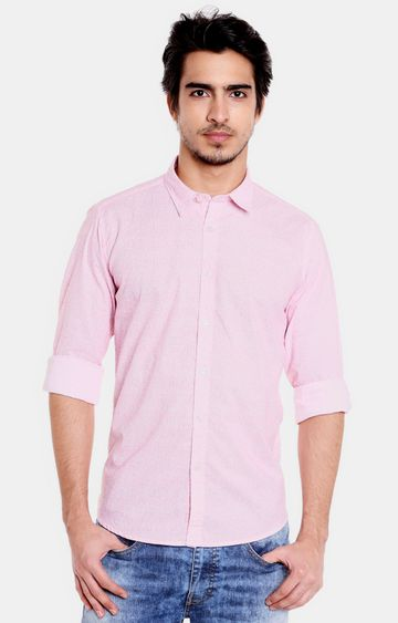 Pepe Jeans | Pink Solid Casual Shirt