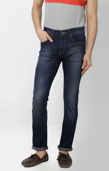 Pepe Jeans | Mid Blue Vapour Straight Jeans