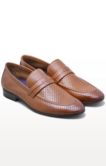 Ruosh | Tan Formal Slip-ons