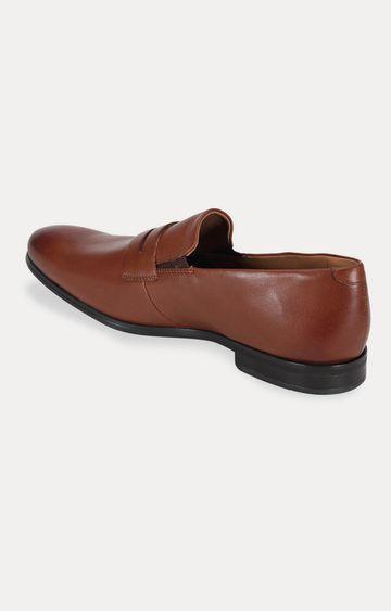 Ruosh | Brown Formal Slip-ons