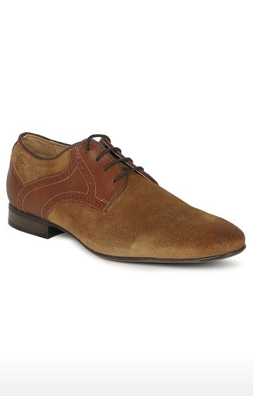 Ruosh | Brown Derby Shoes