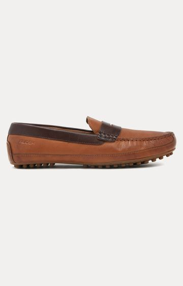 Ruosh | Brown Casual Slip-ons