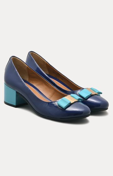 Ruosh | Blue Block Heels