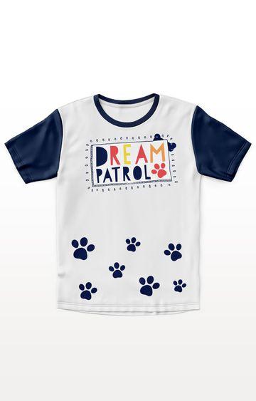 PLANET SUPERHEROES | White Paw Patrol - Dream Patrol T-Shirt