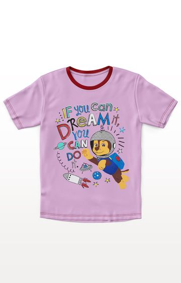 PLANET SUPERHEROES | Purple Paw Patrol - Chase Dream T-Shirt