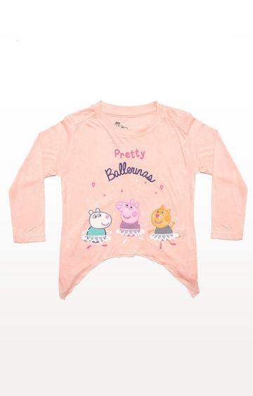 PLANET SUPERHEROES | Peach Peppa Pig - Pretty Ballerinas Top