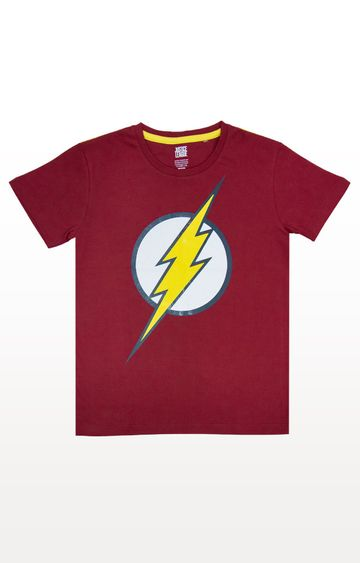 PLANET SUPERHEROES | Red Flash - Classic Logo T-Shirt