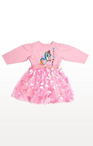 PLANET SUPERHEROES | Pink Yana Unicorn - Leaping Unicorn Dress