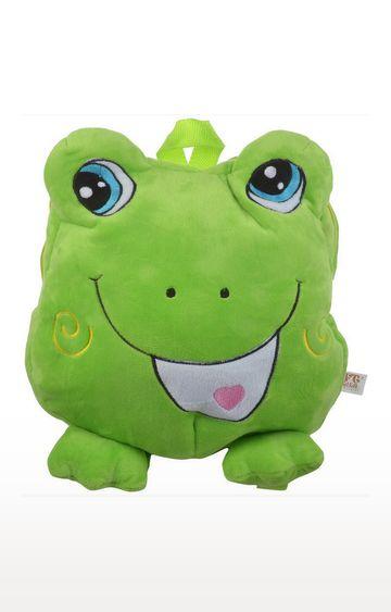 Mothercare | Soft Buddies Plush Character Shape Bag Frog
