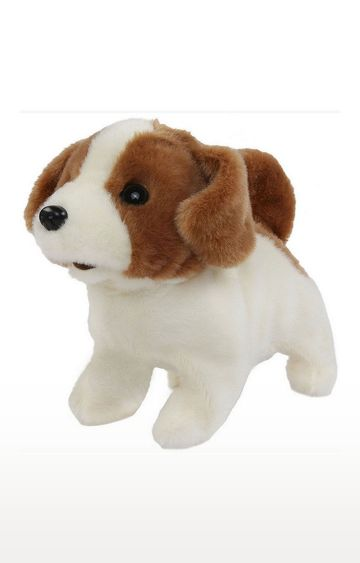 Mothercare | Rowan Movers Shakers Baby Jack Russell Plush Soft Dog