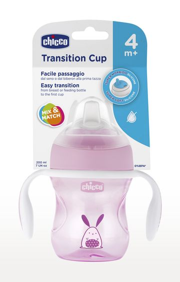 Mothercare | Pink Transition Cup - 200 ML